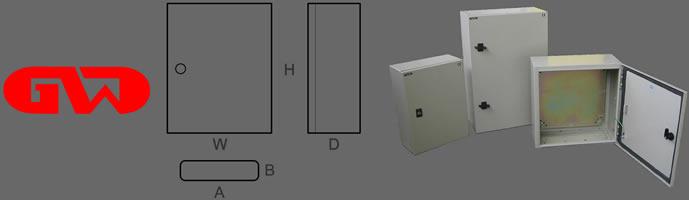 Gw Ip55 Ip65 Metal Enclosure Boxes